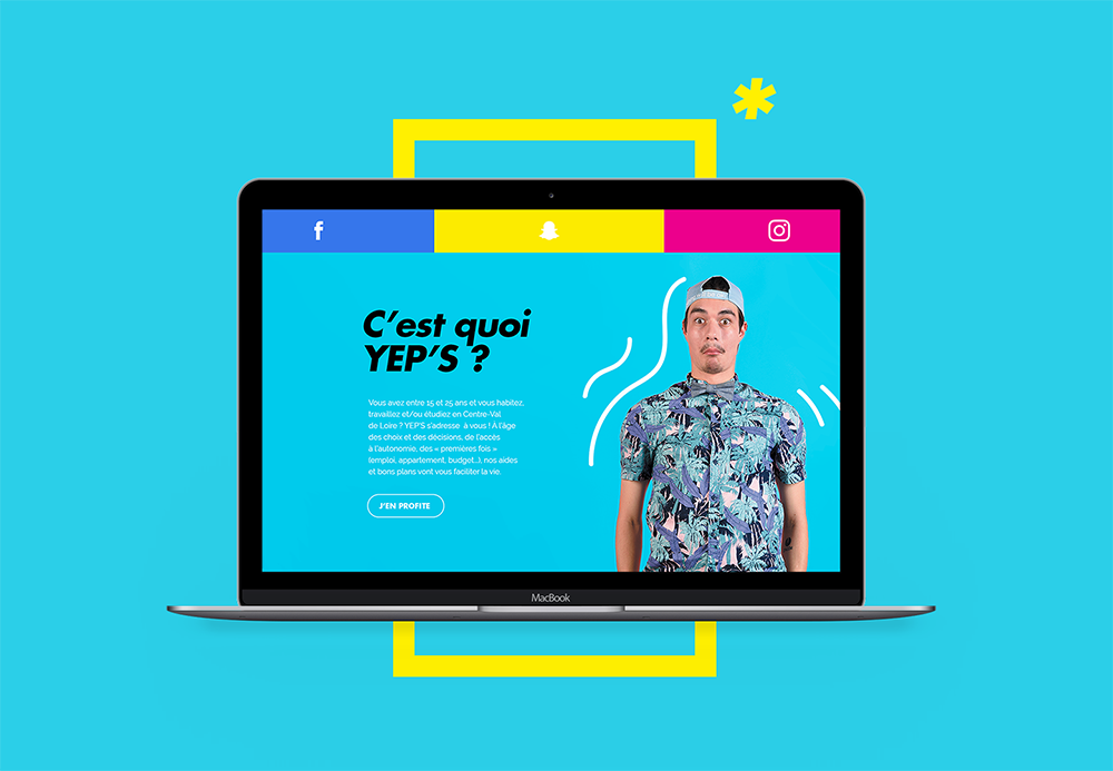 Refonte en cours du site YEPS