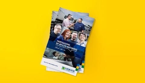 couverture Livret d'accueil Euromaster, communication interne
