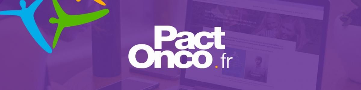 Visuel logo PactOnco.fr